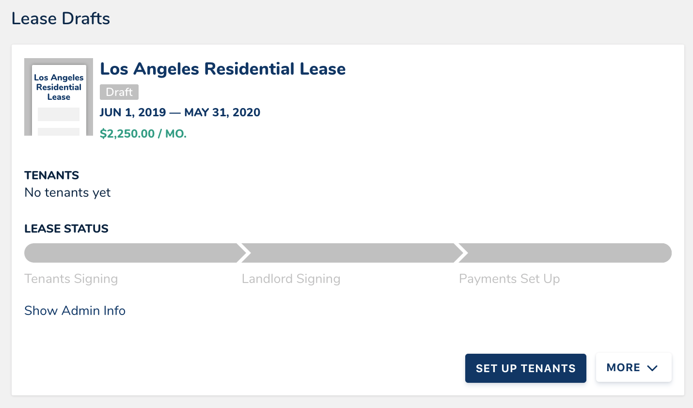 What Are The Different Lease Statuses And When Do I Sign As